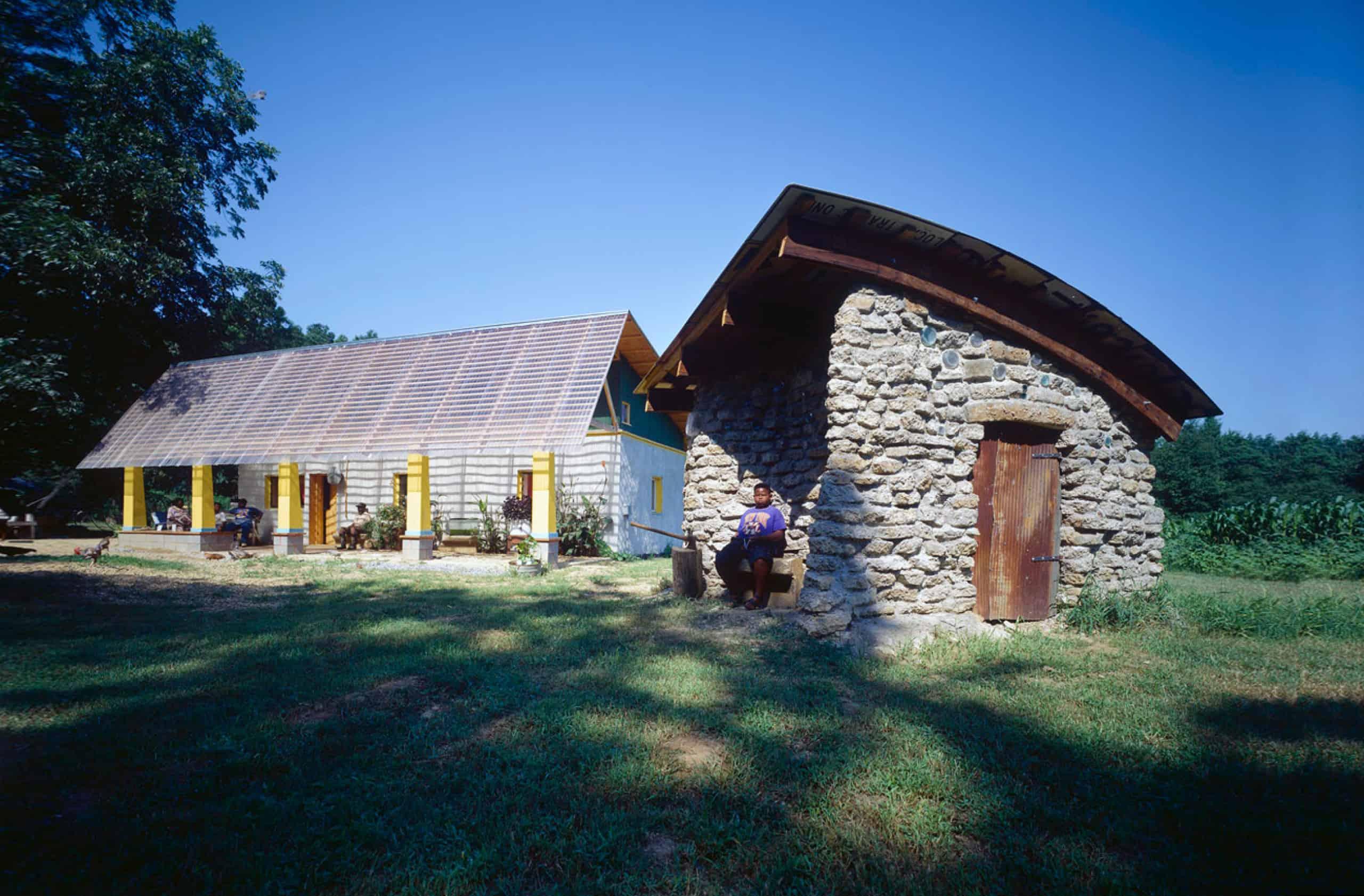 Bryant haybale house