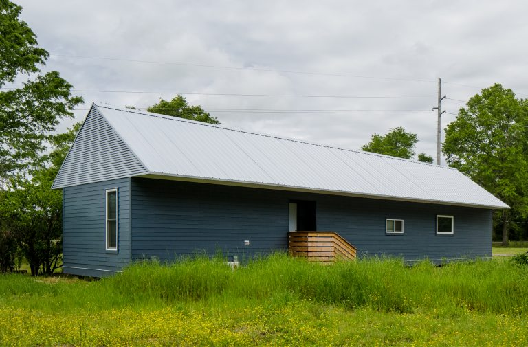Geraldine's home exterior