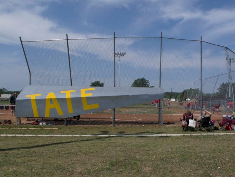 Lion's Park Baseball Field home dugout