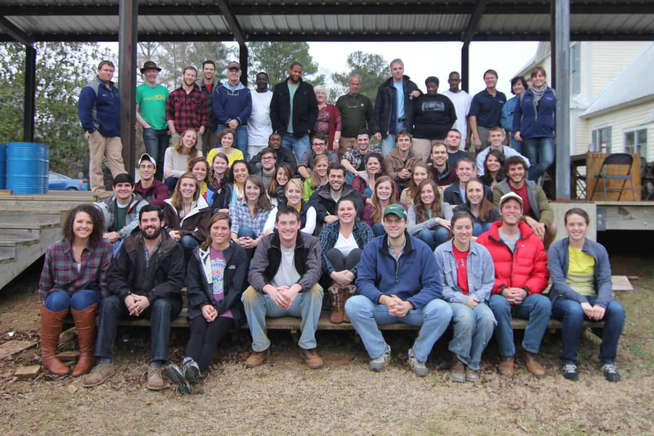 Rural Studio 2013 class photo