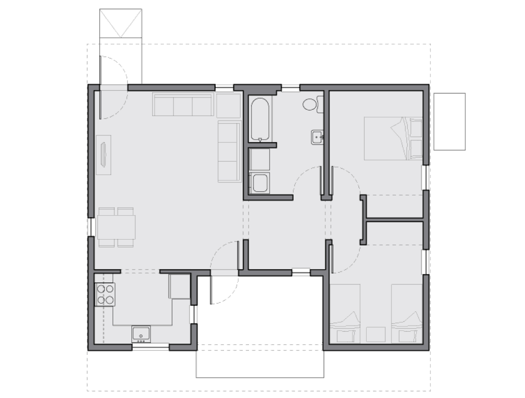 20K Buster's Home floor plan
