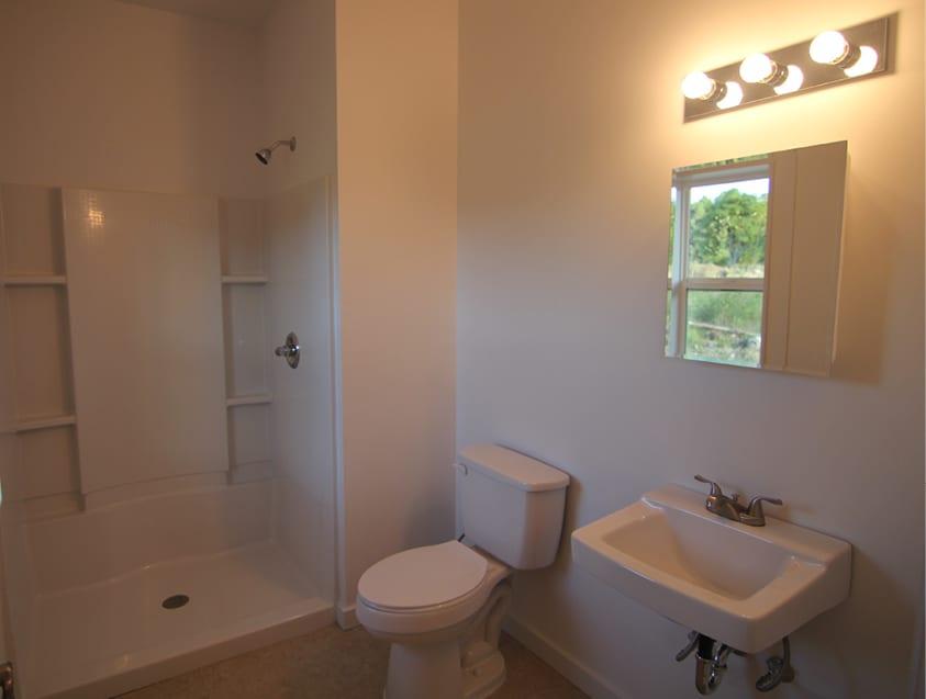 Eddie's house bathroom