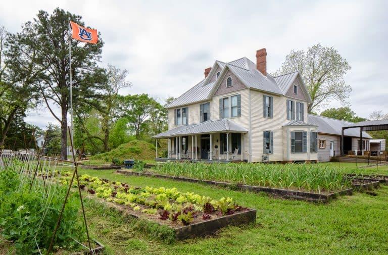 Morissette House and the organic farm