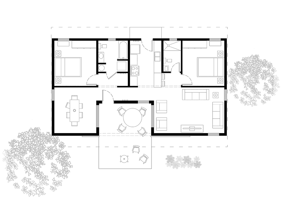 floorplan of demographic home