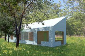 digital rendering of eco home