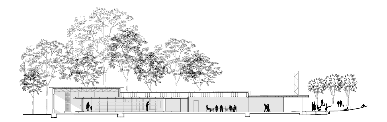 Architectural drawing of the Rural Heritage Center