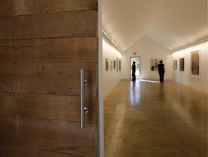 gallery in Safehouse Museum