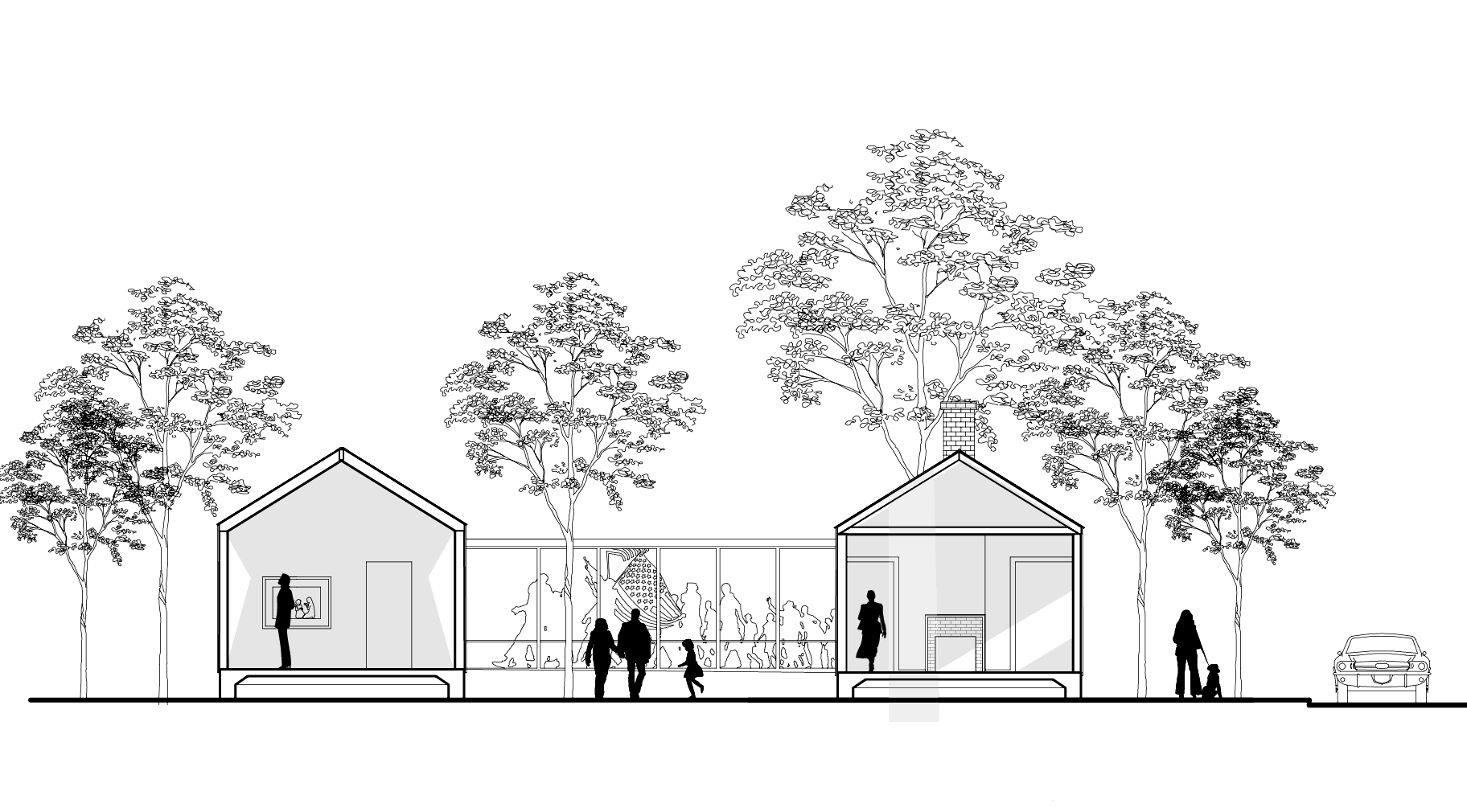 computer rendering of museum