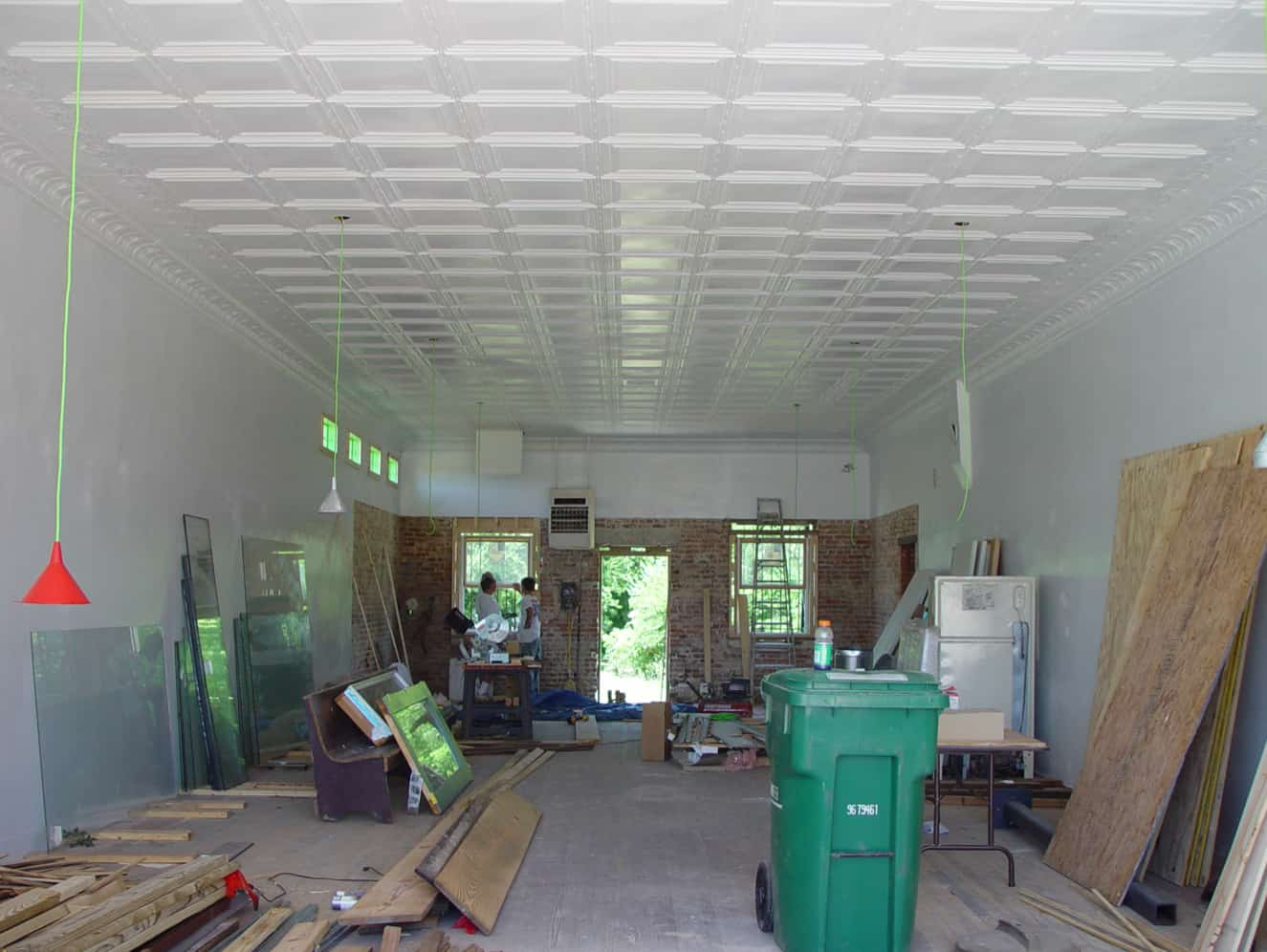 pre-construction interior