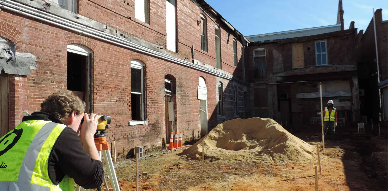 courtyard site survey