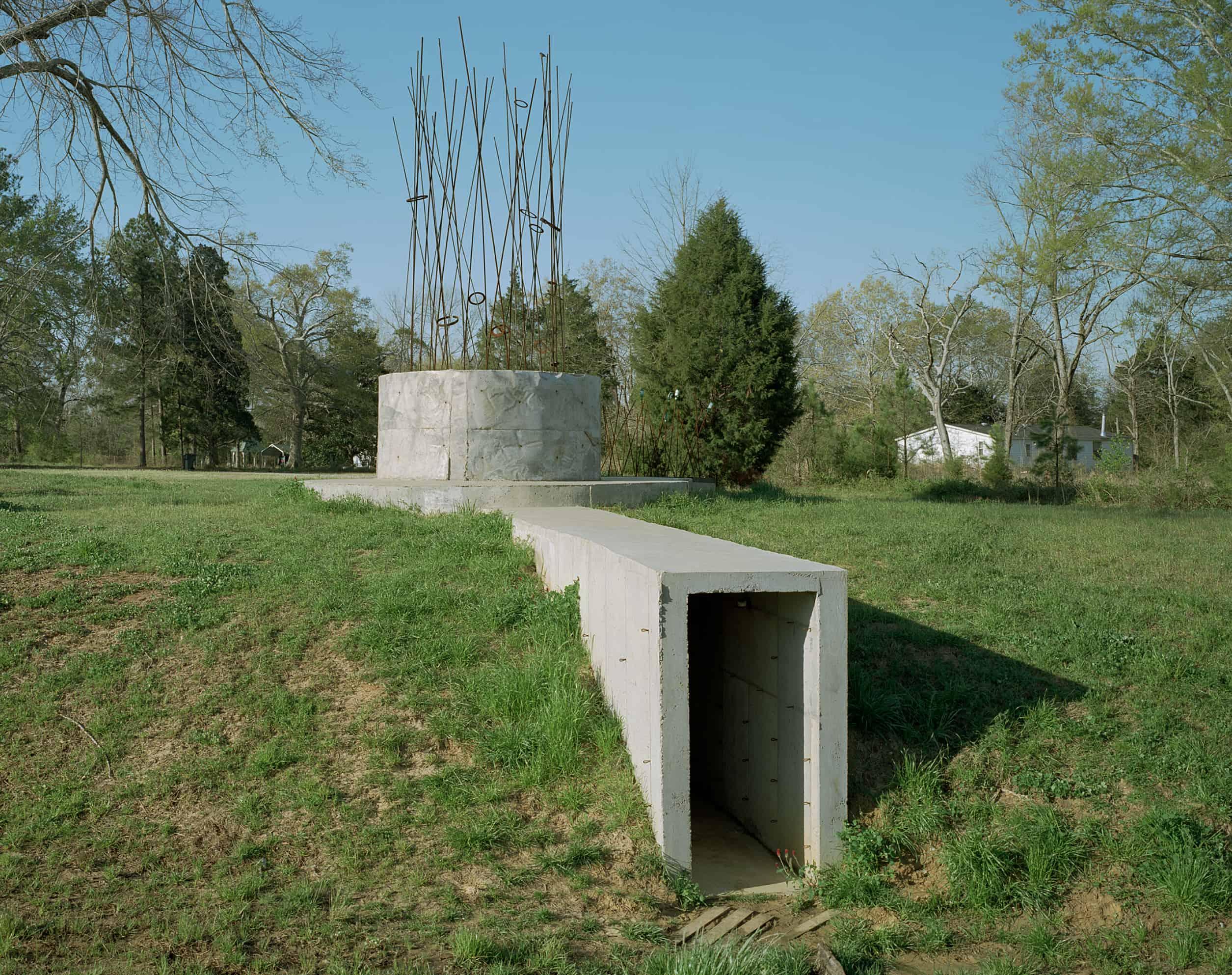 tunnel entrance into Subrosa