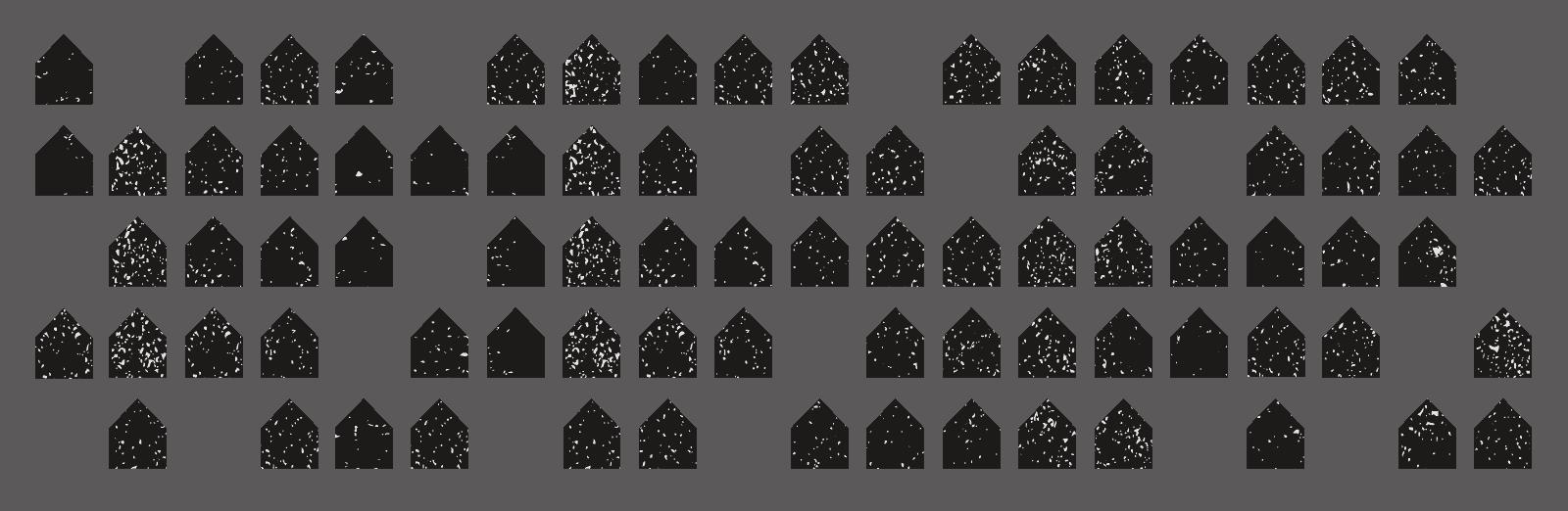 Houses Decreasing animation