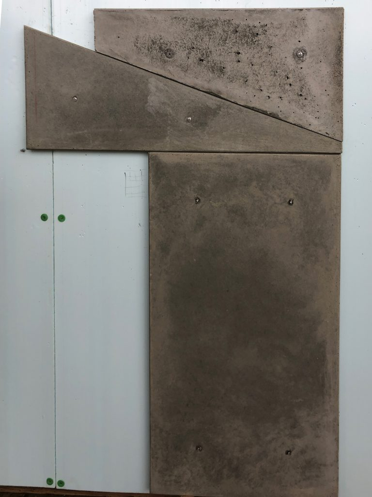 Concrete Panel wall attachment mock-up