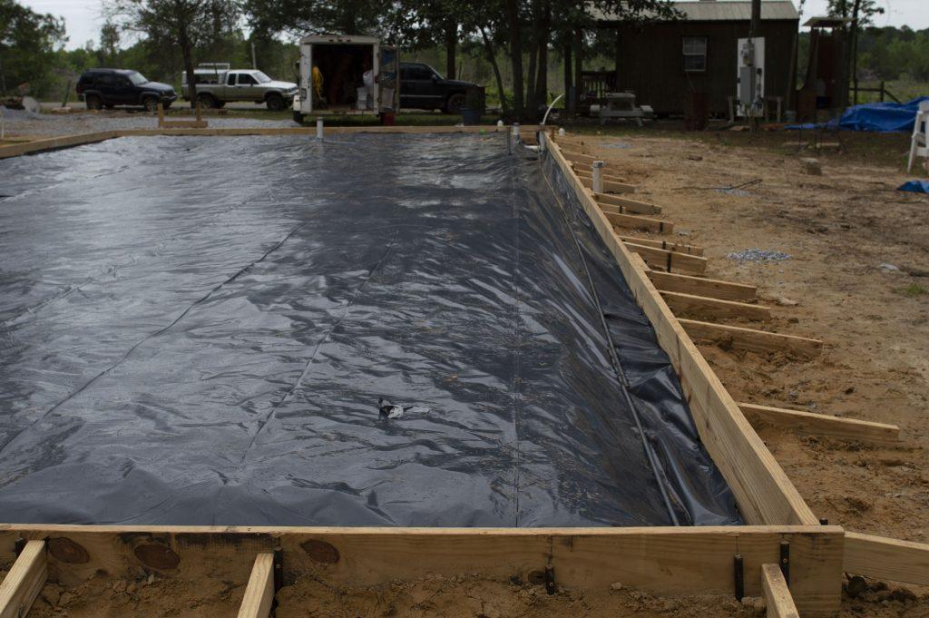 Under-Slab Vapor Barrier