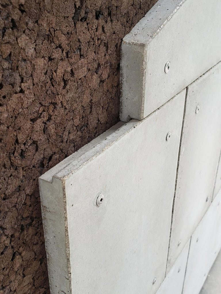 shiplap concrete panel joint