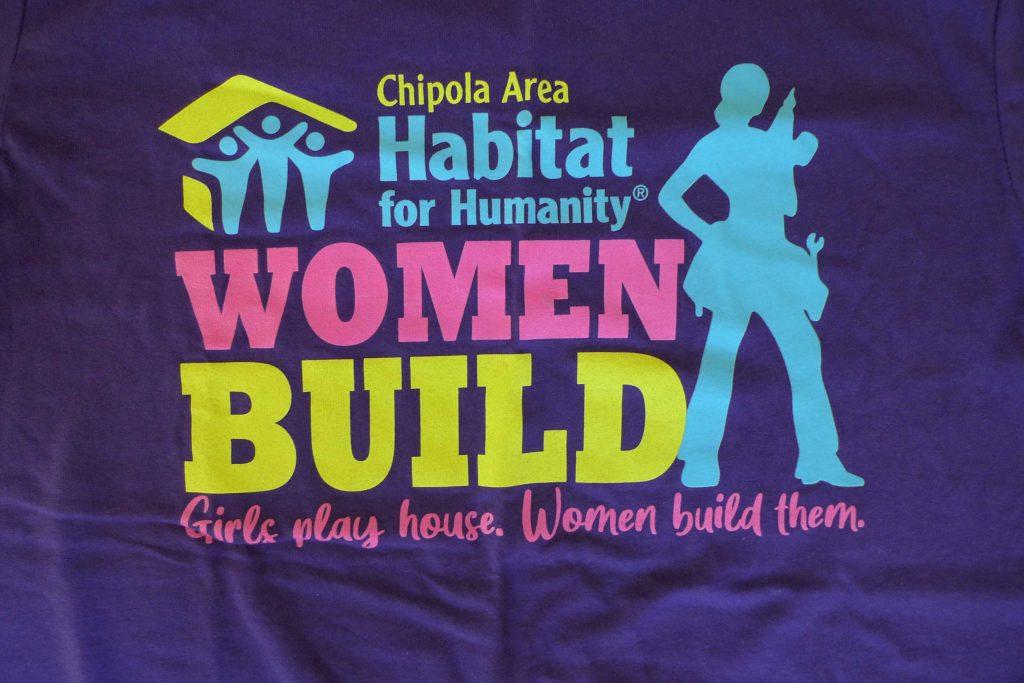 2021 Women Build T-shirt