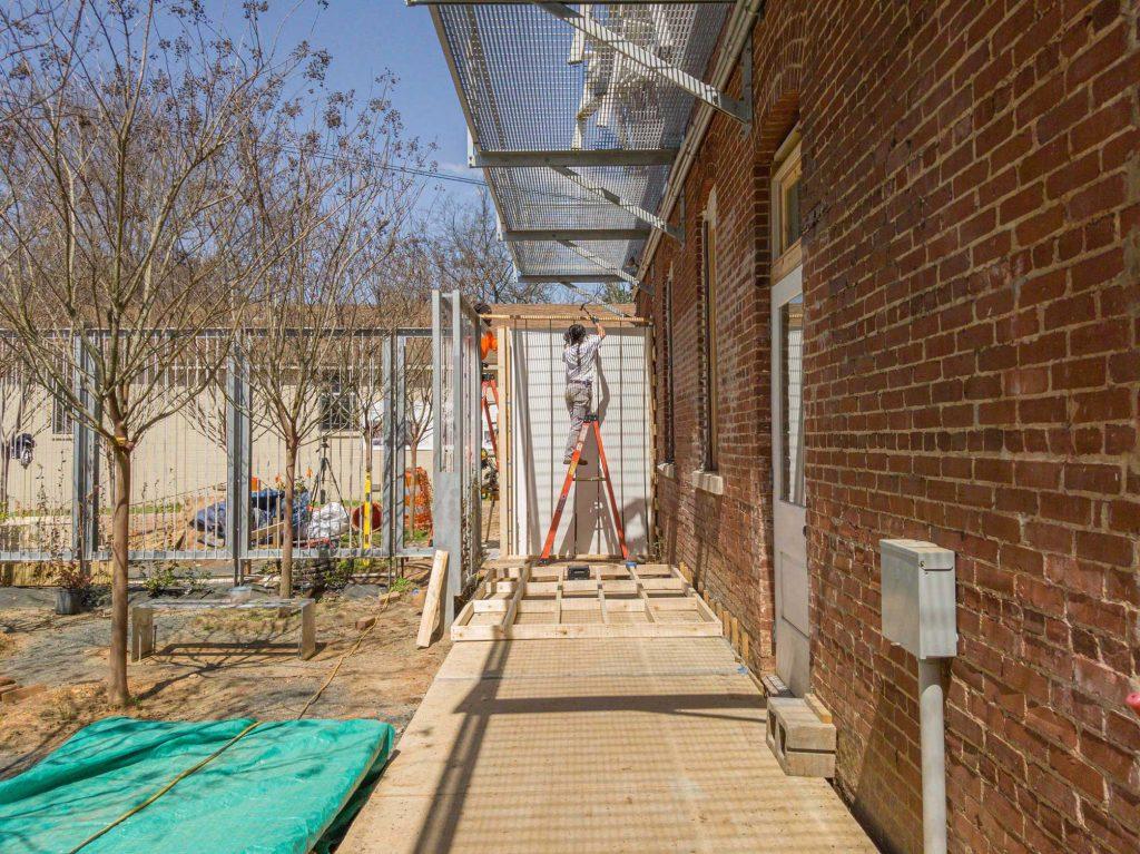 Formwork construction