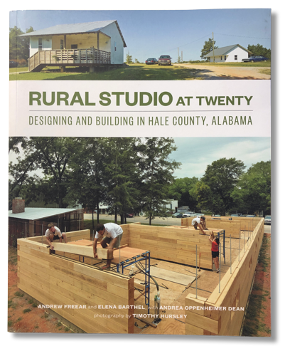 Front cover of the Rural Studio at Twenty book