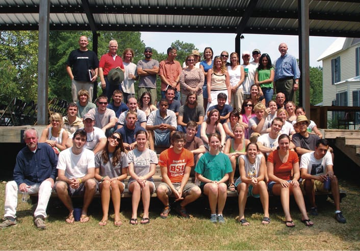 Rural Studio 2008 student group photo