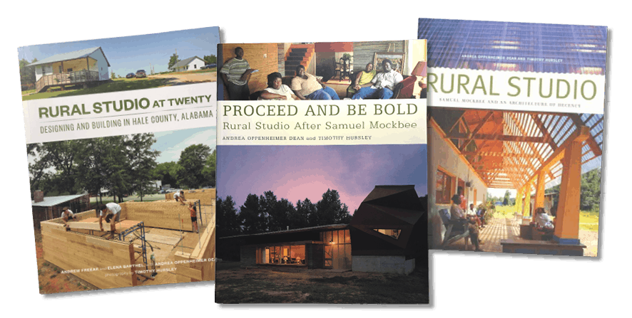 Covers of the Rural Studio books