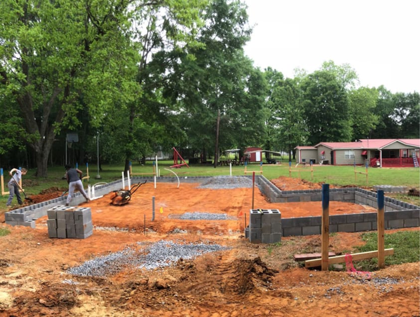 anna's home construction process