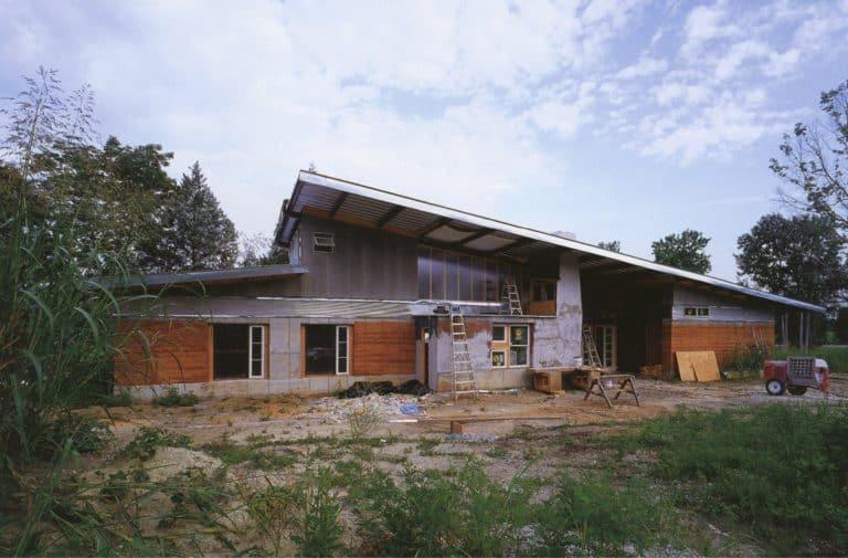 Full view of Sanders Dudley house