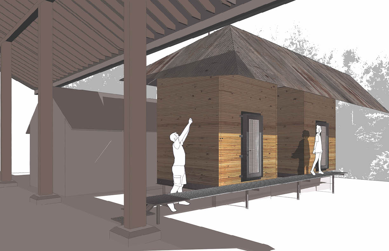 timber pod renderingrendering