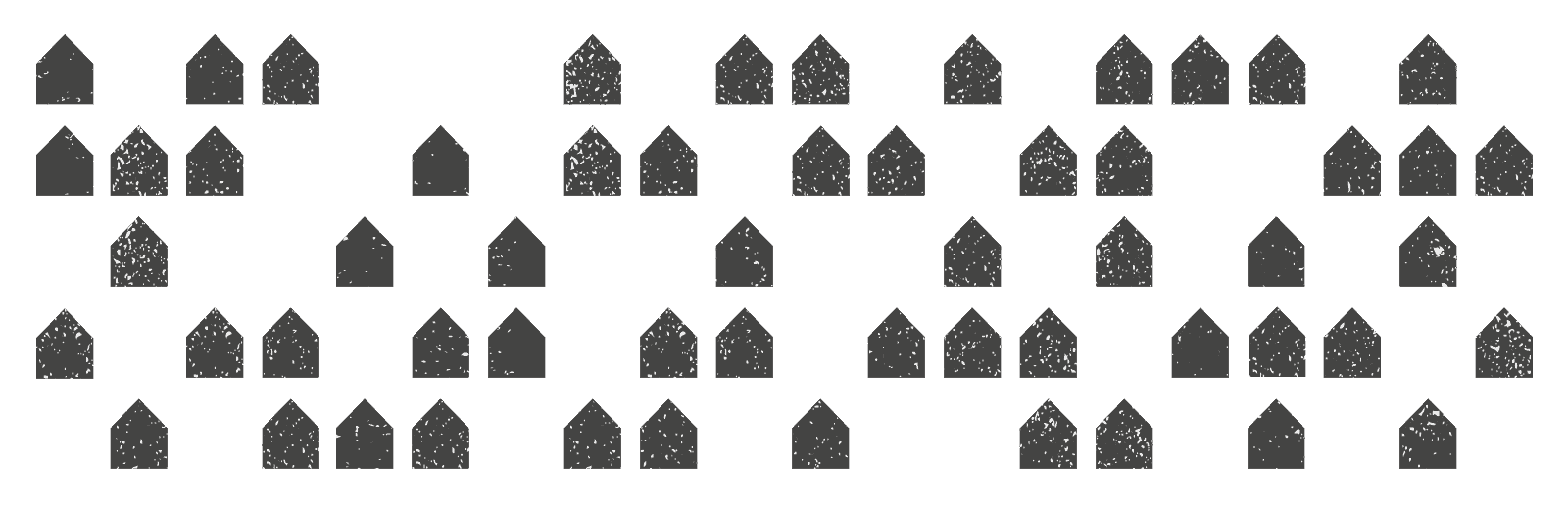 Houses Decreasing animation