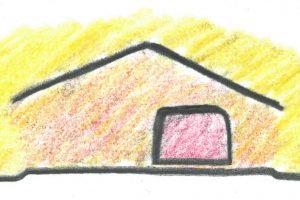 Diagram of Reverend Walkers Home